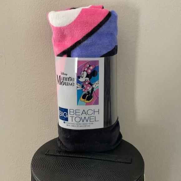 Disney Minnie Mouse Beach Towel